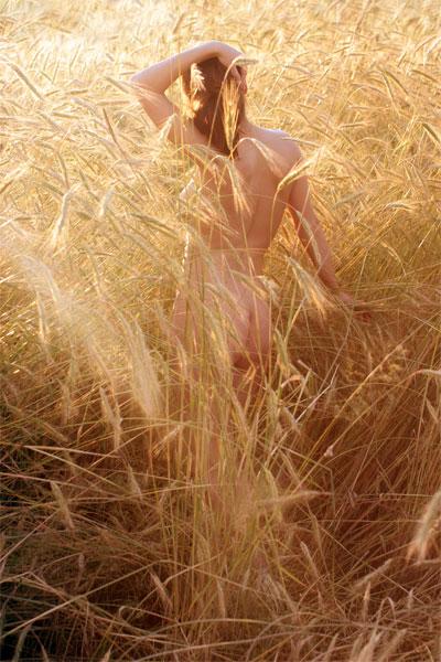 partial nude